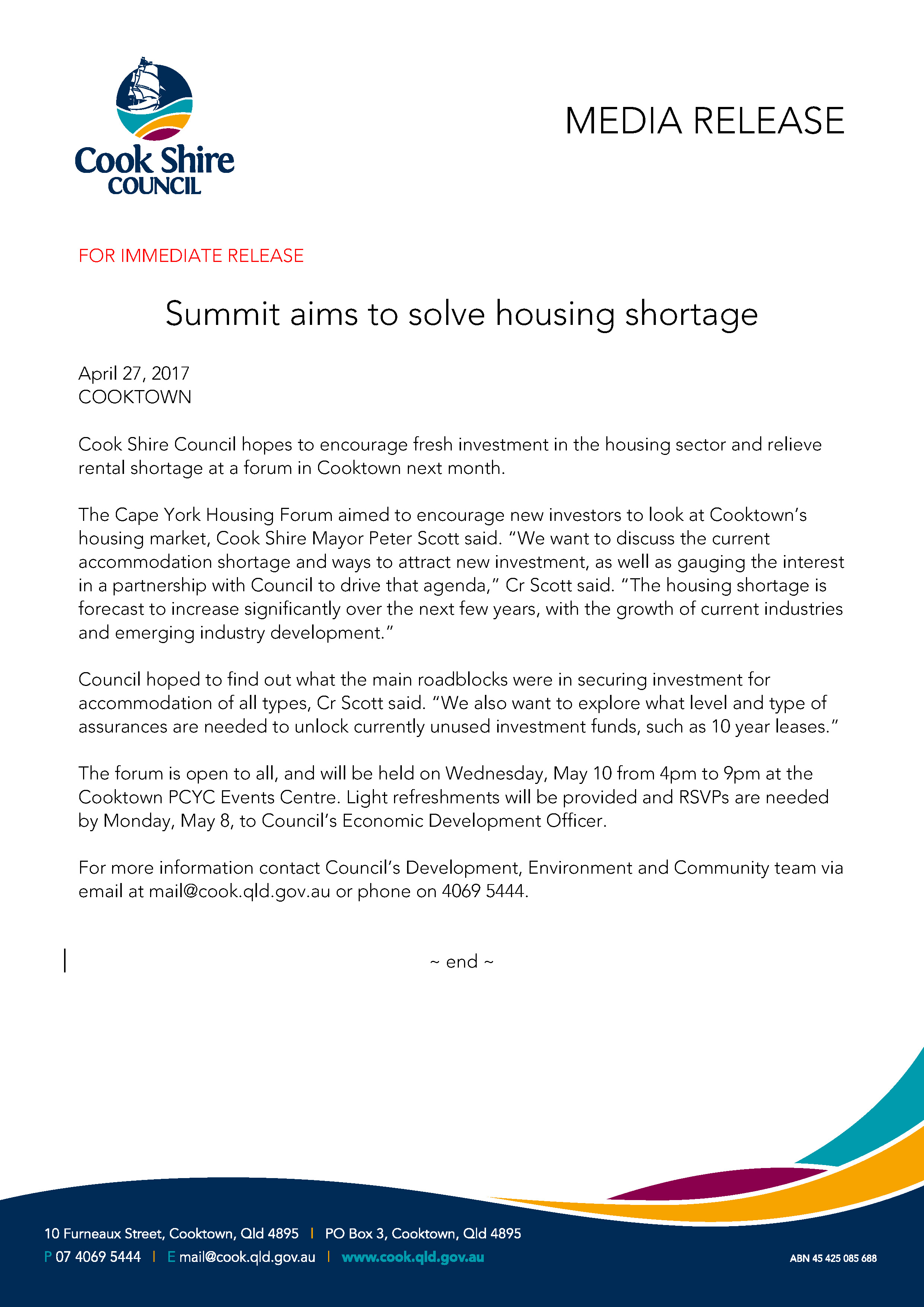 Media Release - Cooktown and Cape York housing summit.jpg