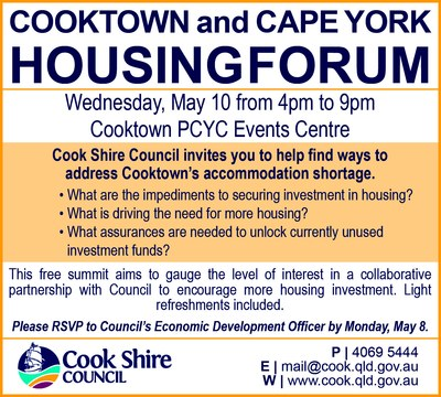 Cape York News April 26 and May 3 2017 cape york housing summit.jpg