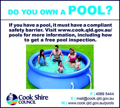 Cape York News April 5, 12, 19 and 26 2017 pool compliance.jpg