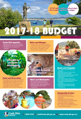 Cape York News August 2 2017 budget snapshot.jpg