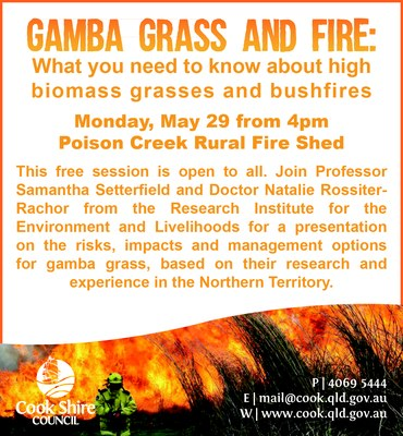 Cape York News May 24 2017 gamba grass fire risk workshop.jpg