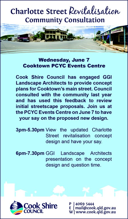 Cape York News May 24 and 31 2017 Charlotte Street revitalisation community consultation.jpg