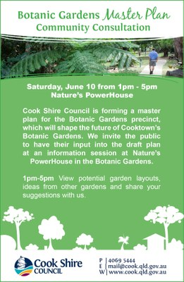 Cape York News May 31 and June 7 2017 Botanic Gardens master plan community consultation.jpg