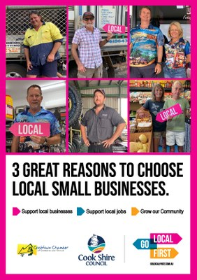 GO LOCAL FIRST POSTER