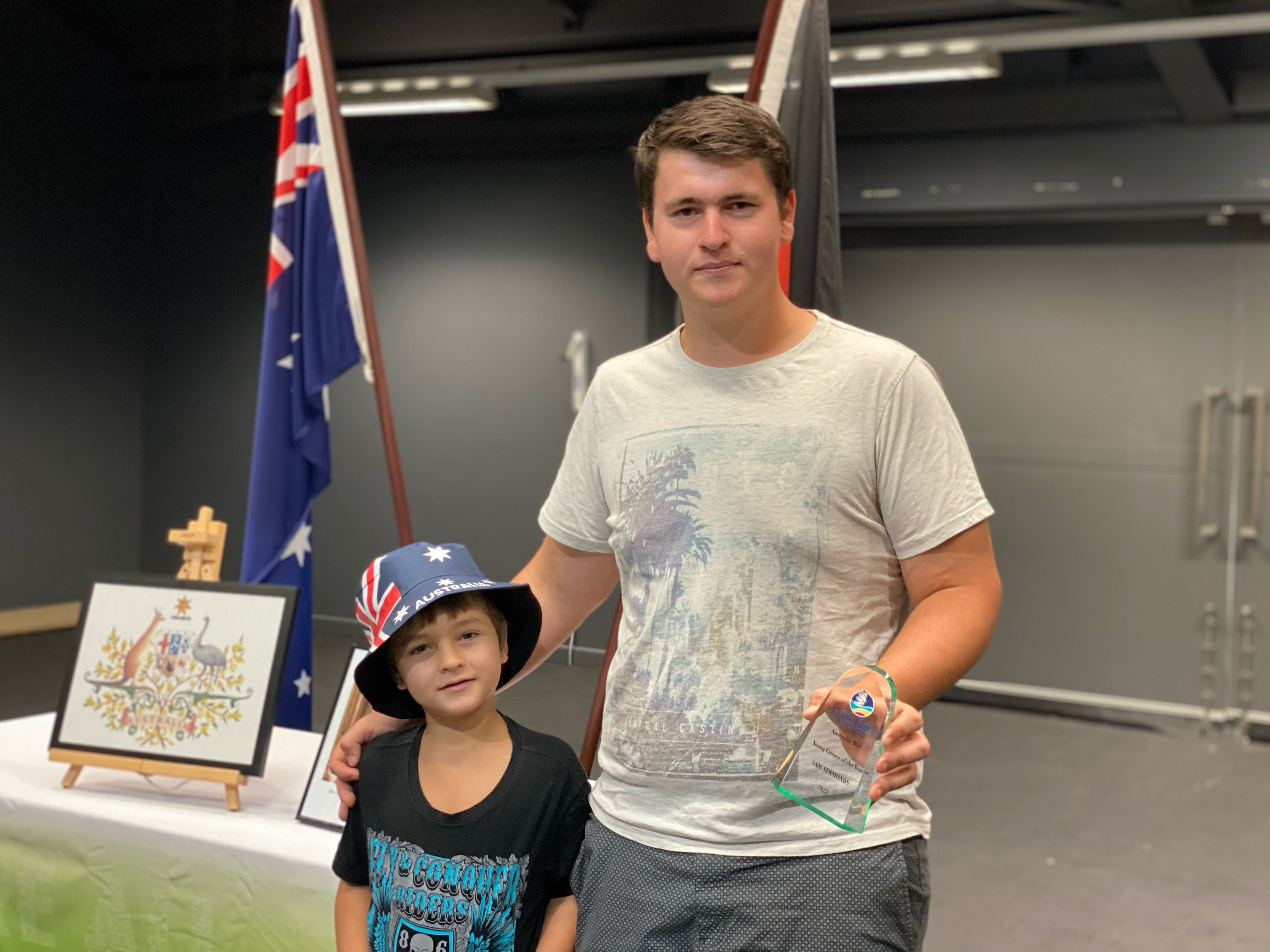 Cook Shire Young Citizen of Year 2021 Sam Simmonds