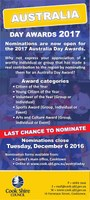 Australia Day Award nominations last chance