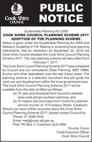 Cook Shire Council 2017 Planning Scheme Adoption