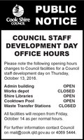 Council Staff Development Day Office Hours