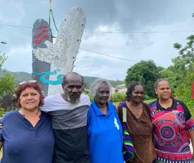 Reconciliation Rocks Traditional Owners overjoyed with the result of collaboration with artist Braham Stevens